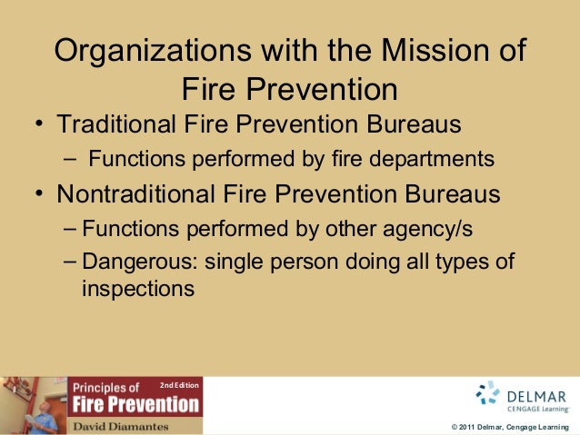 Fire Prevention Chapter 2