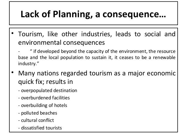 history of tourism planning and development