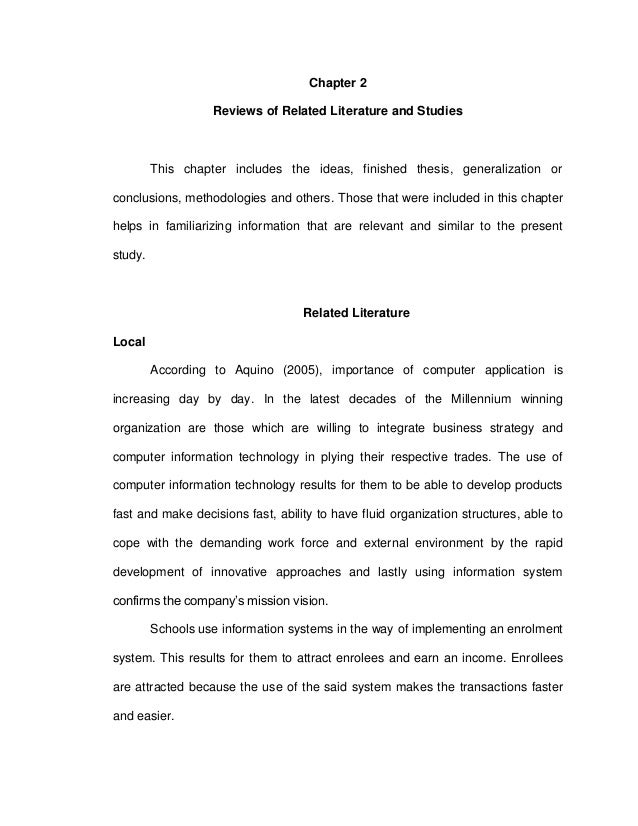Related studies foreign essay
