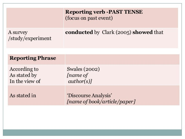 Thesis to book literature review tense