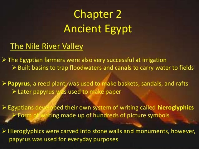 the egyptian system of writing is called