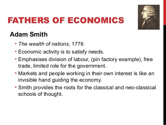 adam smith's 'division of labour' 1776 Adam smith selections from the wealth of nations, 1776 (paragraph breaks added) book i, chapter 1 of the division of labor: the greatest improvement in the productive powers of labor, and the greater part.