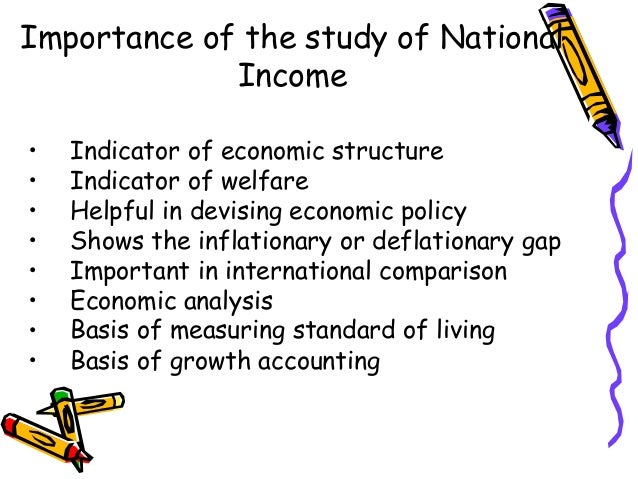 national income and its measurement