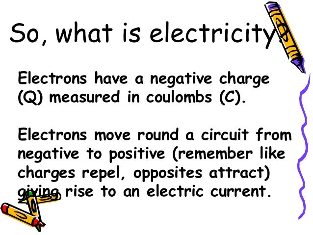 analysing electric fields and charge flow