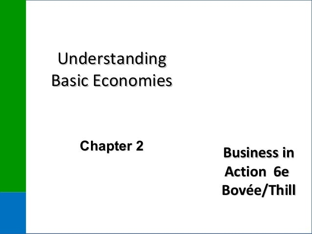 Business inBusiness in Action 6eAction 6e Bovée/ThillBovée/Thill UnderstandingUnderstanding Basic EconomiesBasic Economies...