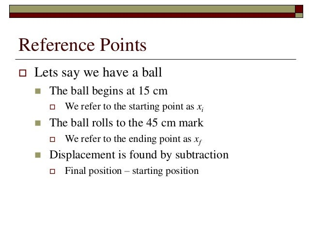 Physics - Chapter 2 - One Dimensional Motion
