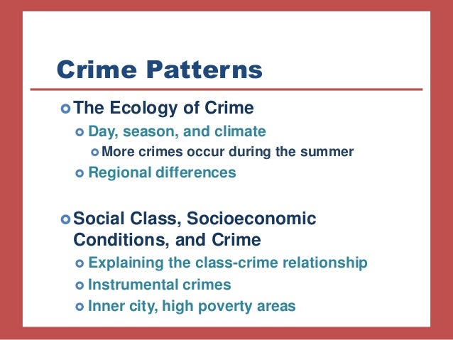 the direct relationship between poverty and crime Economics fundamental financecom it again examines the relationship between crime and poverty and how this relationship is influenced when these factors are.