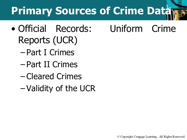 uniform crime data report Caution against ranking use figures from the uniform crime reporting of crime it is incumbent upon all data users to become as well.