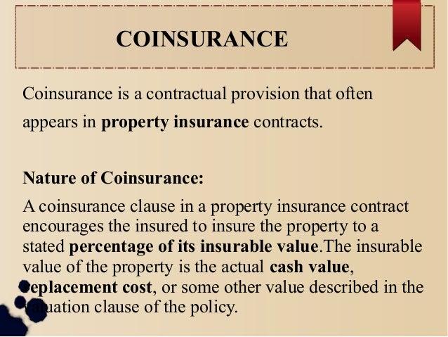 Corridor Deductible Property Insurance