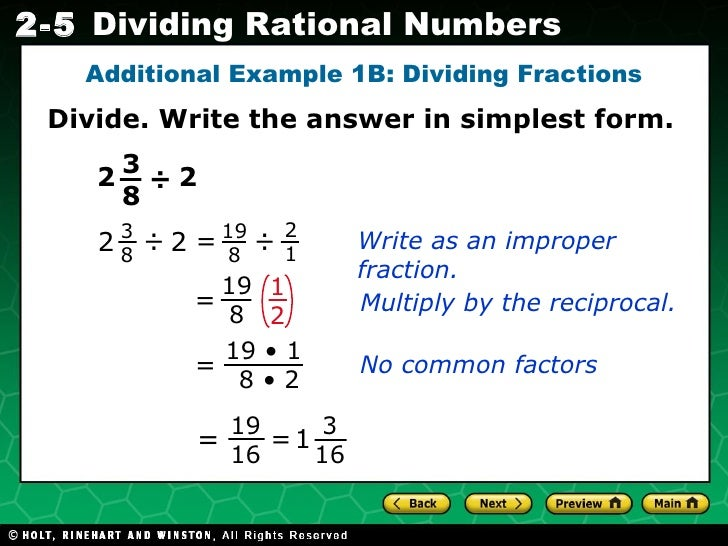 simplest form dividing fractions  114 14 in simplest form