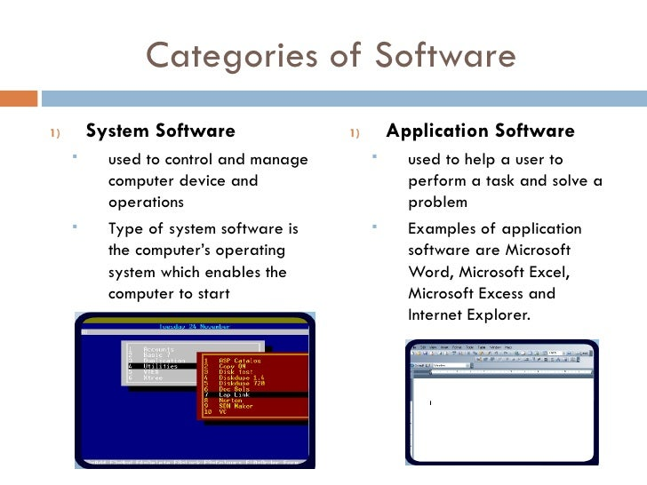 difference between application software and system software Operating system is the system software that makes the computer work we can say that an operating system (os) is software that acts as an interface between you and.