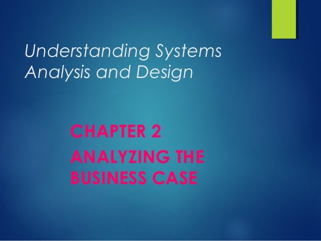 mba 540 chapter 2 case study