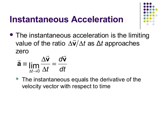 how to find instantaneous velocity calculus