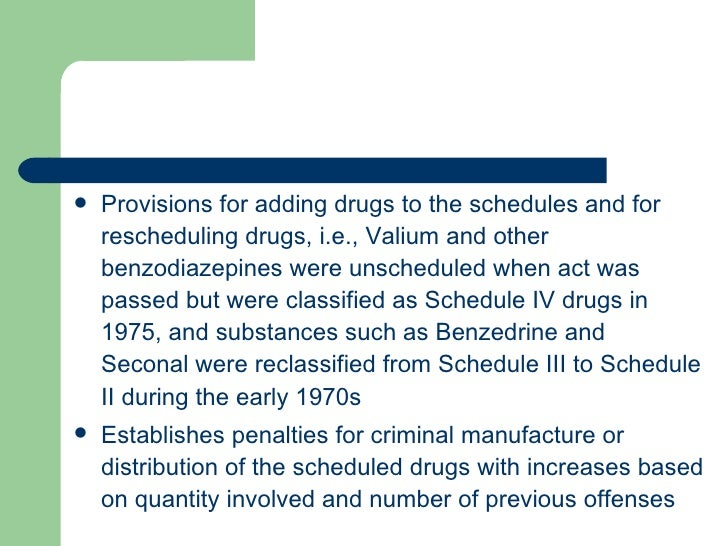 valium schedule 3 drugs penalty