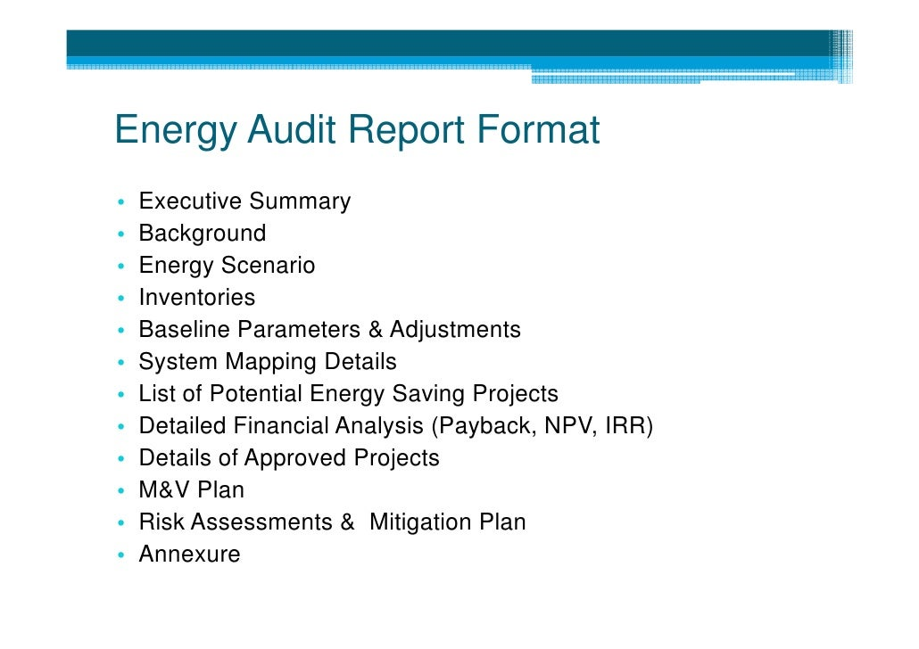 2 Introduction To Energy Audit Methods In Water Supply