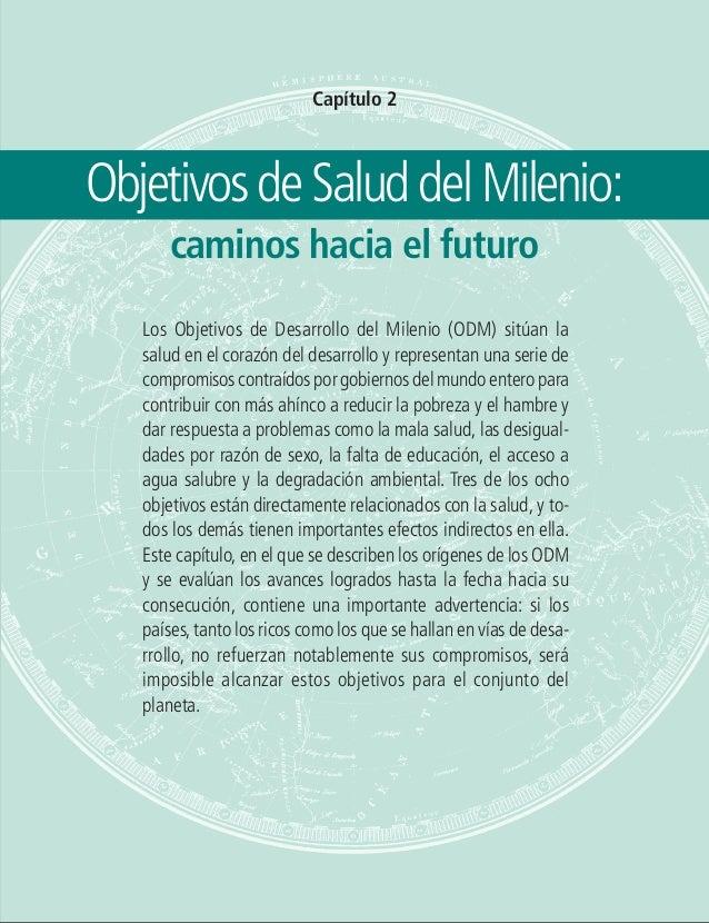 Objetivos de Salud del Milenio: caminos hacia el futuro 27 Capítulo 2 ObjetivosdeSaluddelMilenio: caminos hacia el futuro ...