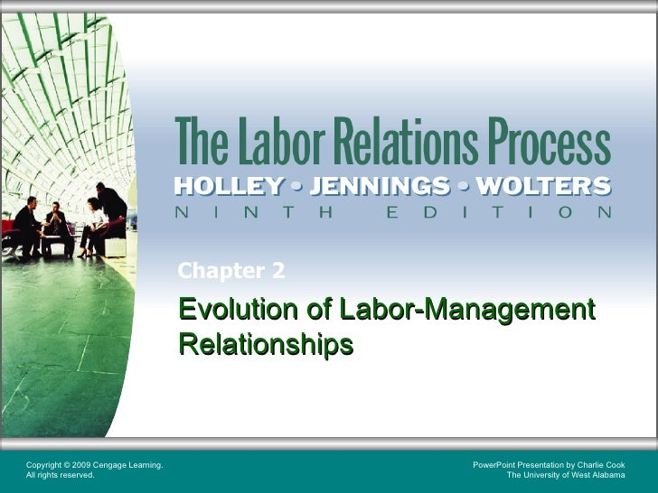 labor management relationship chapter 22