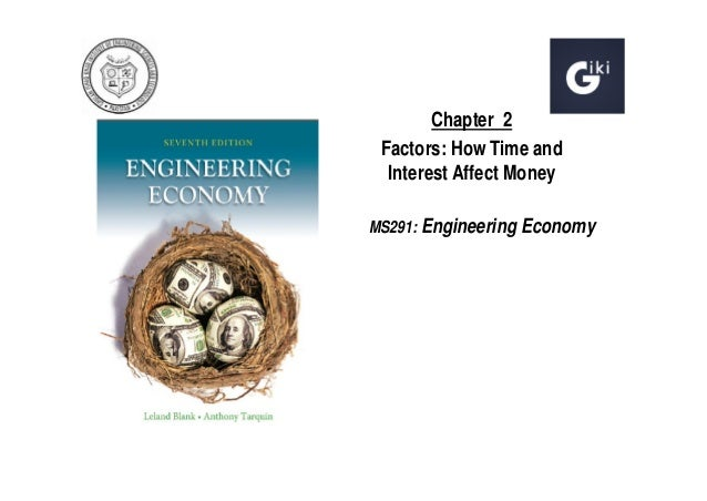 Chapter 2 Factors: How Time and Interest Affect Money MS291: Engineering Economy