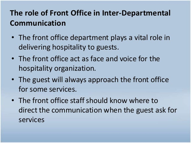 Chapter 2 interdepartmental communication – Inter Office Communication