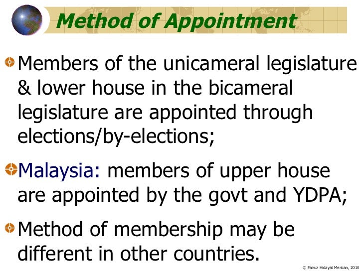 What are the advantages and disadvantages of a bicameral legislature?