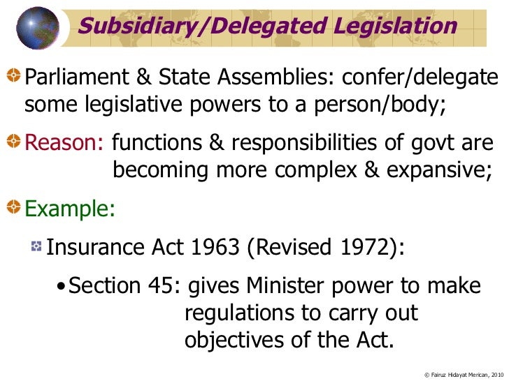 What Is Legislature Pad170