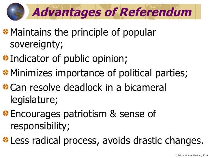 advantages of a bicameral system