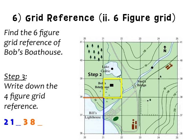 How to write a 14 figure grid reference finder