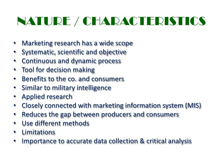 meaning and importance of marketing research