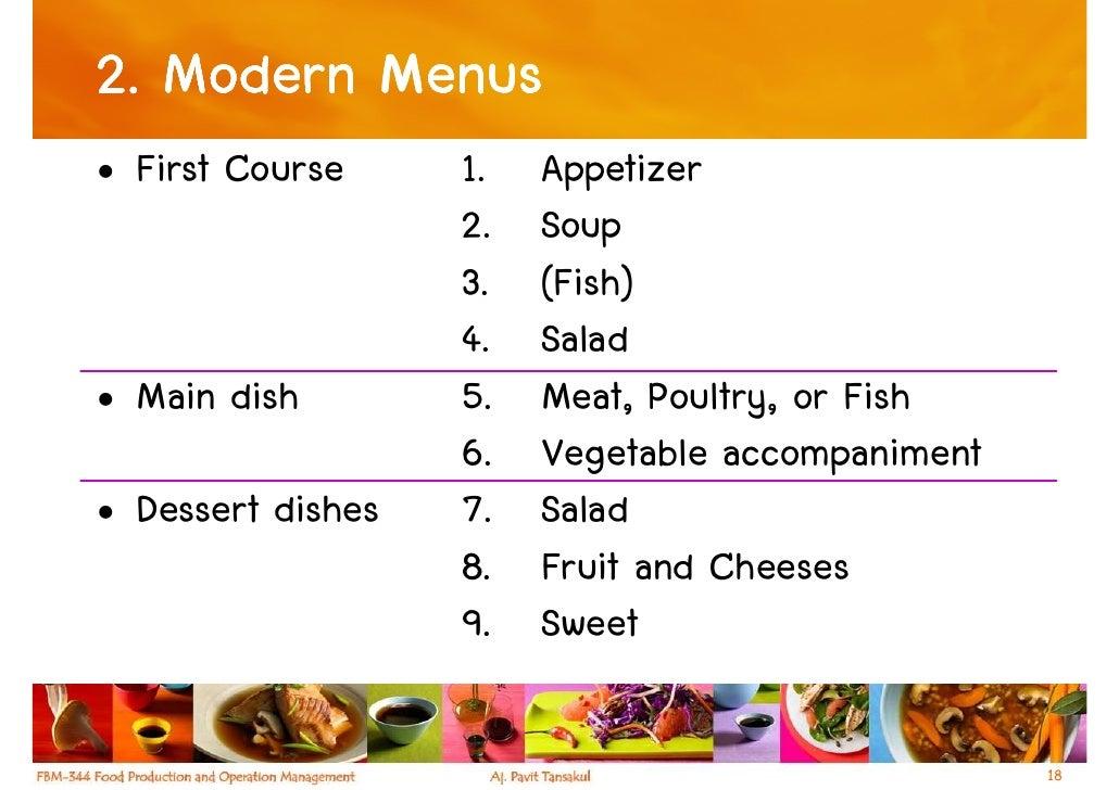 Menu creating an effective menu design. See examples.