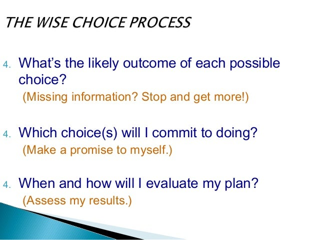 5.  Which choice(s) will I commit to doing? By February 1st, I will develop a budget that will cut $125.00 off my monthly ...