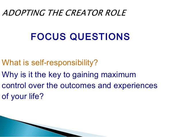 FOCUS QUESTION How can you create greater success by changing your vocabulary?