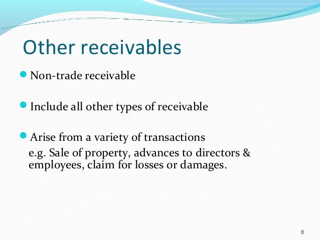 What Are Receivables and Accounts Receivable?