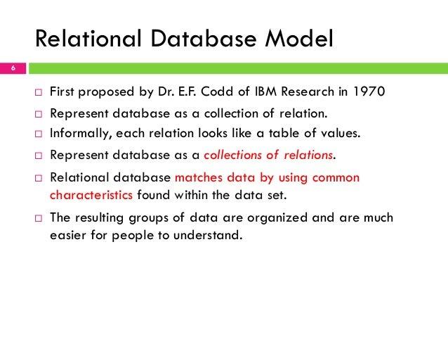 chapter 2 relational data model