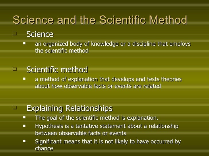 scientific method and human development The scientific method is important because it is an evidence-based method for a common framework usually involves a question, a research period, the development of a hypothesis, the testing of the hypothesis and the synthesis importance of scientific method scientific research.