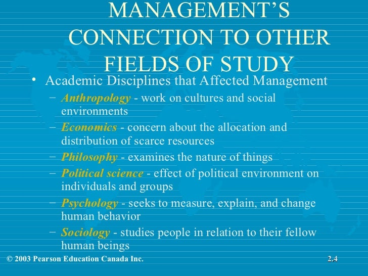 discuss various theories of management Organizational theory and behavior 1993, david s walonick while taylor's scientific management theory proved successful in the simple industrialized companies at the turn of the century thereby giving us confidence that we can create a different reality in the future.