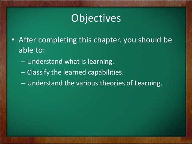 analysis of learning theories At the instructional design models and theories journey you will find 33 instructional  based on constructivist learning theories 1961 - jerome bruner introduces.