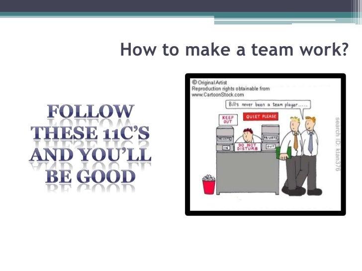what makes a good team