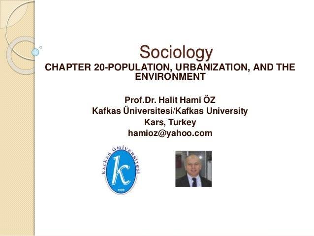 population urbanization and environmental sociology