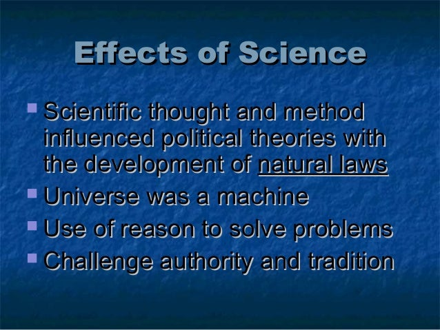 the impact of scientific ideal on the development of political science essay Mexican political development science and  the relation of science and democracy is an ancient conundrum  the ideal of value-free science remains.