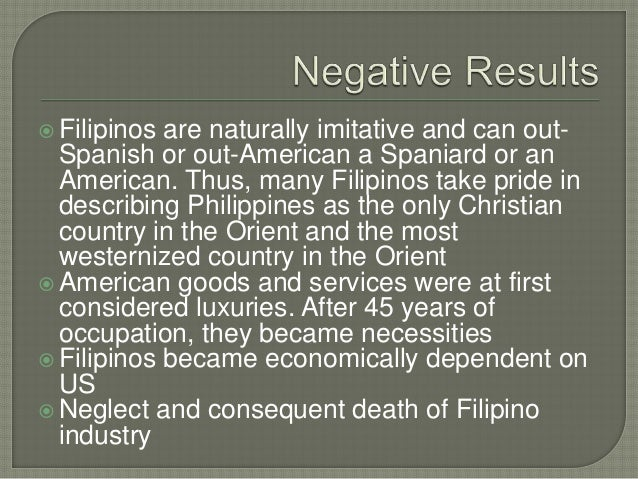 positive and negative effects of spanish colonization in the philippines
