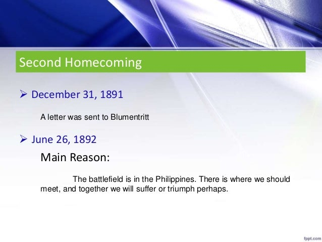 chapter 21 rizal quizlet
