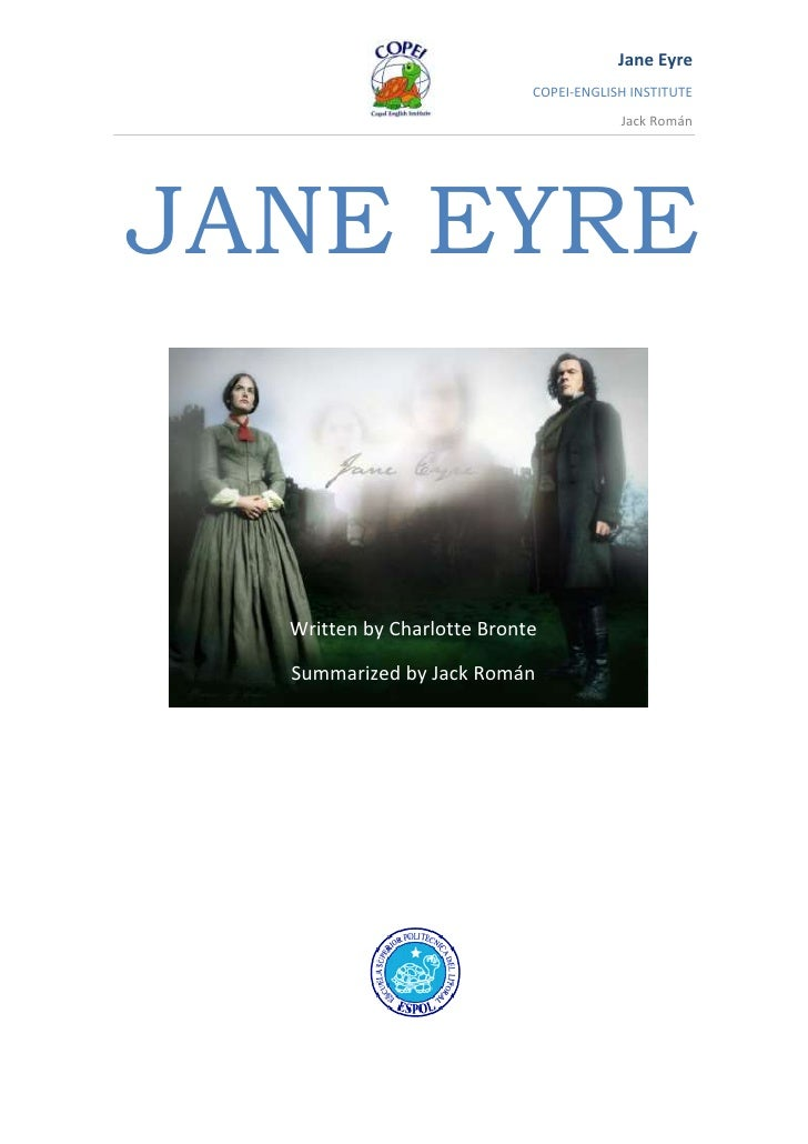 JANE EYRE<br />501015381635<br />Written by Charlotte Bronte<br />Summarized by Jack Román<br />CHAPTER 21<br />MR RIVER'S...
