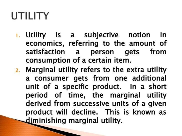 Chapter 21 consumer behavior and utility maximization