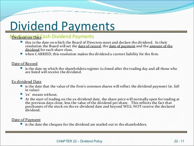 dividend policy as a strategic tool Report on dividend policy case analysis on bank executive summary a dividend is a usually distributed in cash form to stock holders of a corporation approved by the board of director it may also include stock dividend or other forms of payment.