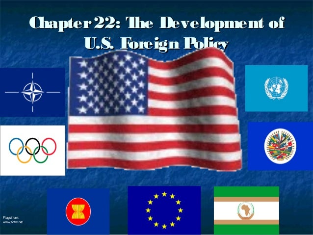 Chapter 22: T Development of                            he                     U.S. Foreign PolicyFlags from:www.fotw.net