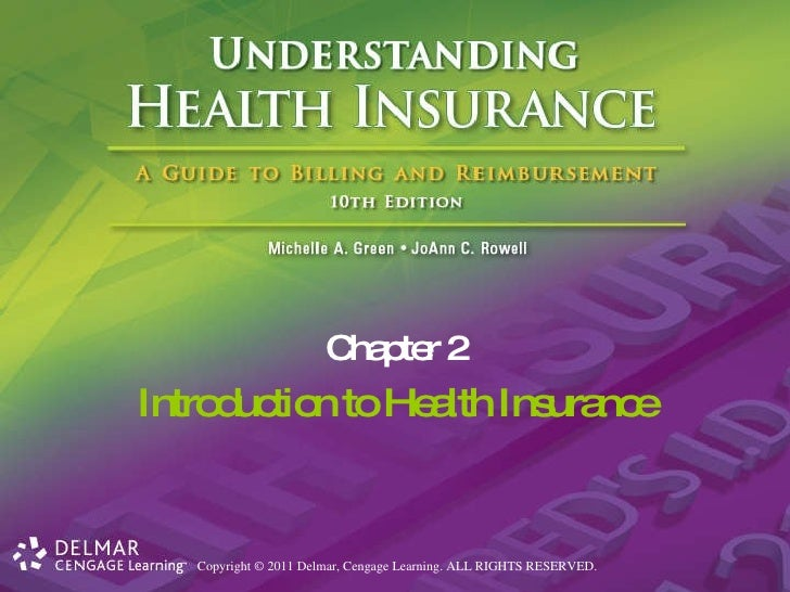 Introduction to Health Insurance Chapter 2