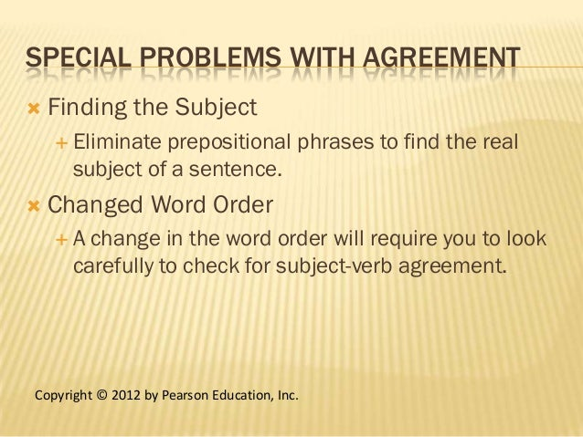 subject verb agreement check