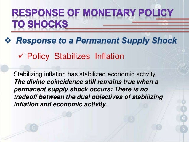 theoretical framework monetary policy Inflation targeting is straightforward, at least in theory or openness, is closely linked to accountability to increase the effectiveness of monetary policy under inflation targeting.