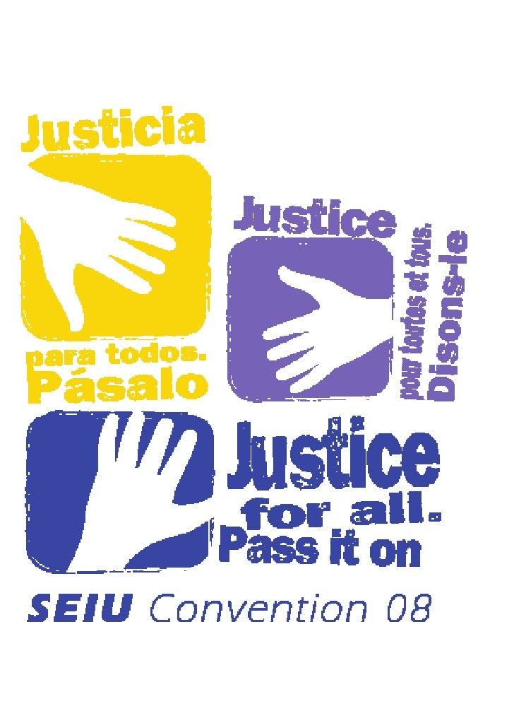 CHAPTER 26                  2008 Convention Seeks 'Justice For All'                      Stern Reports SEIU Passes Two Mil...