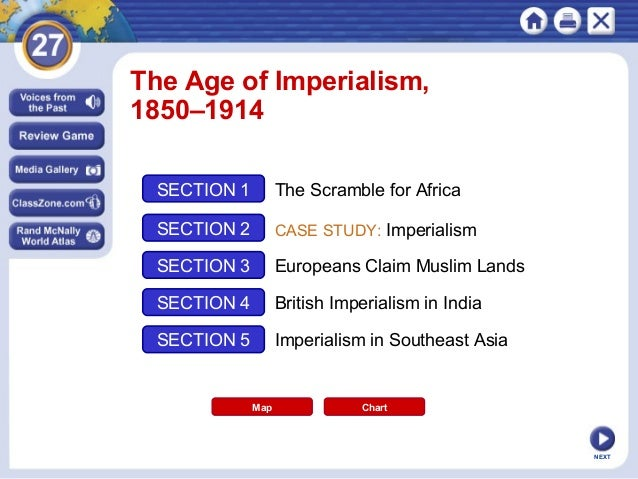 chapter 27 section 2 imperialism case study nigeria notes